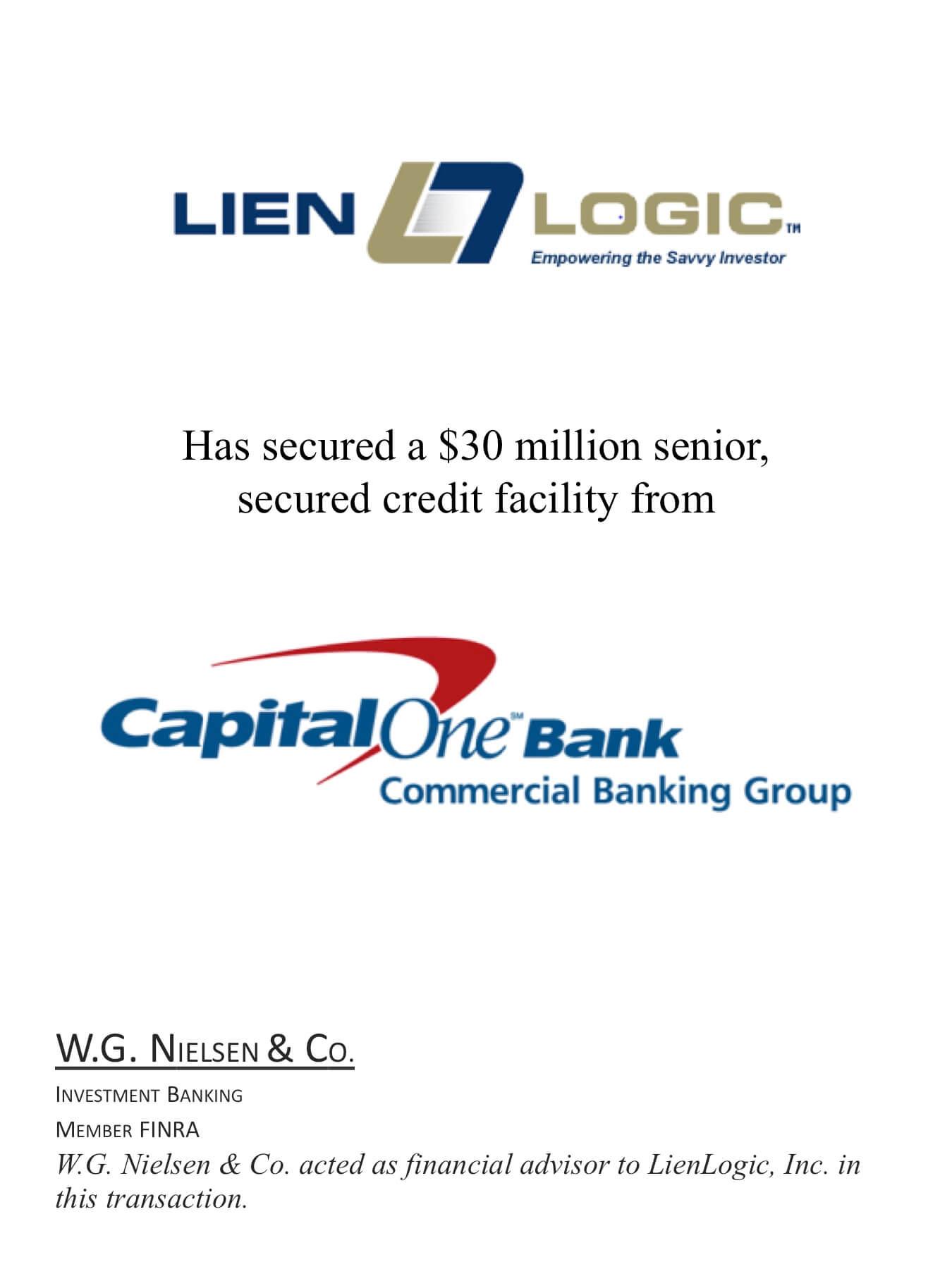 lien logic investment banking transaction