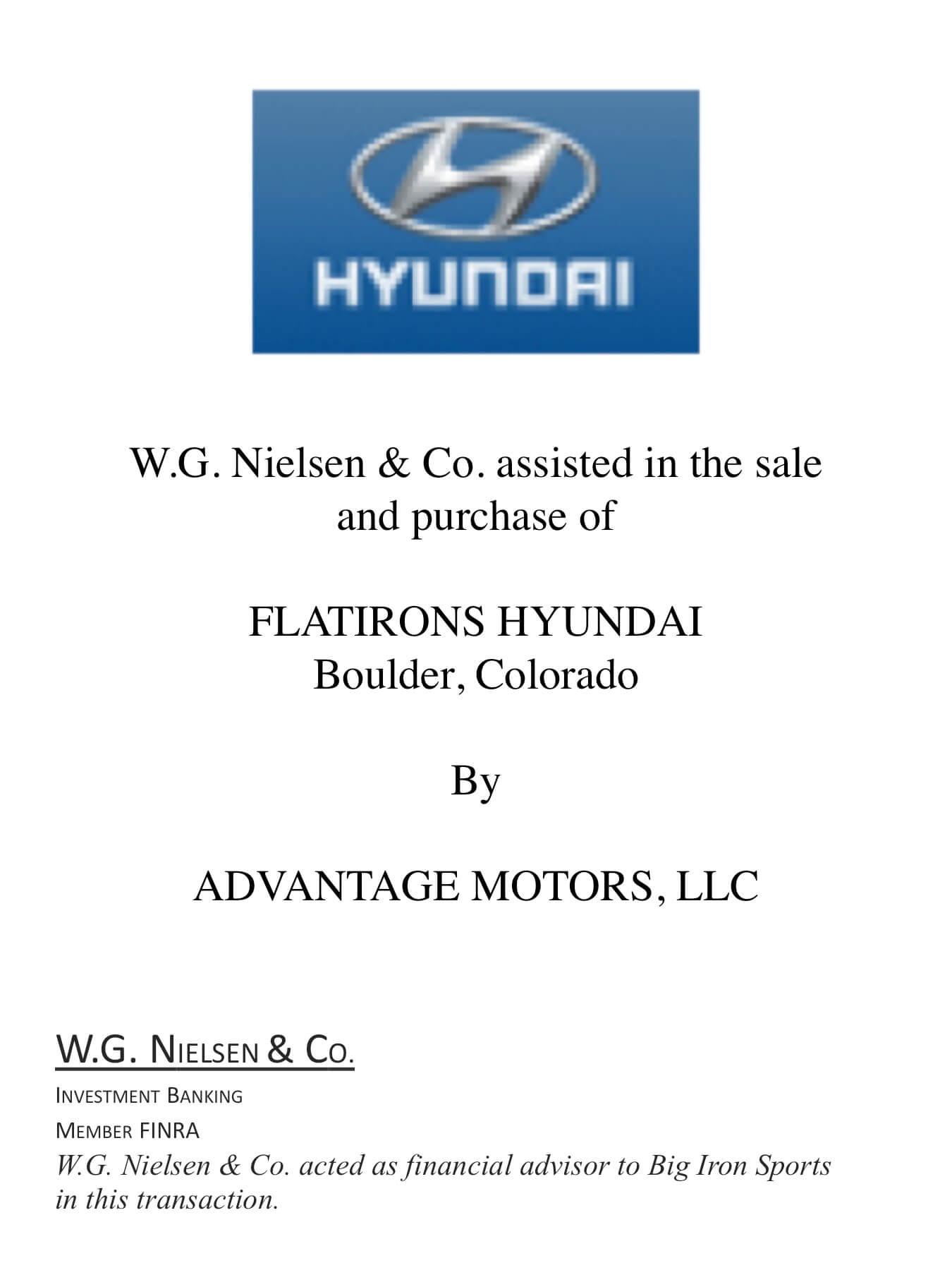 hyundai investment banking transaction
