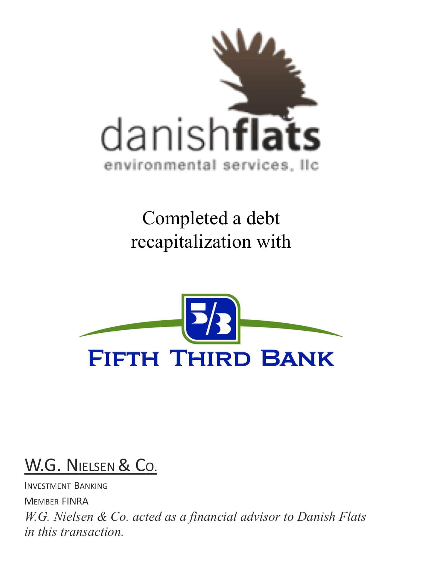danish flats investment banking transaction