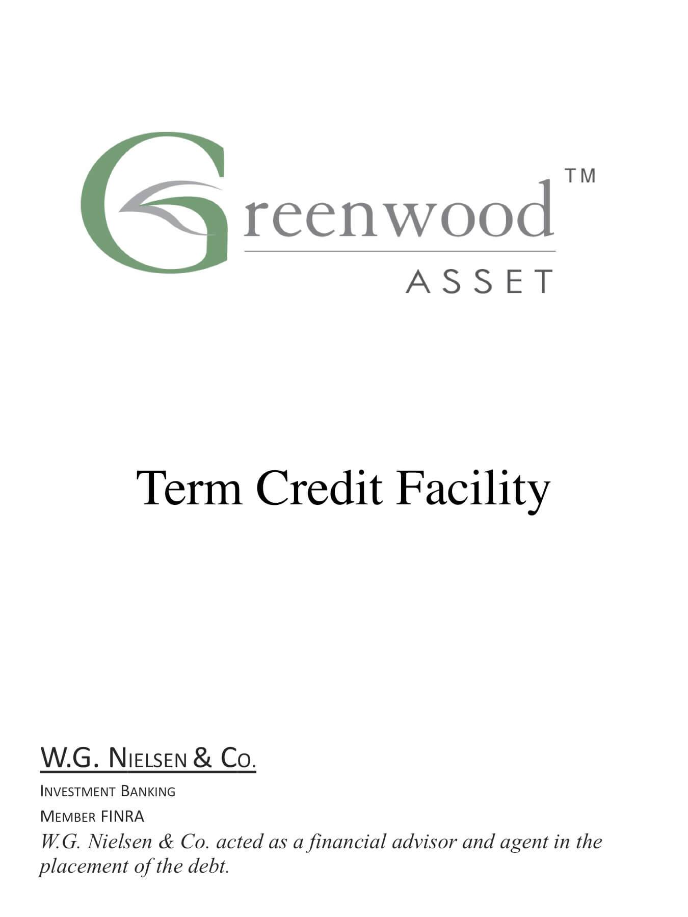 greenwood asset investment banking transaction