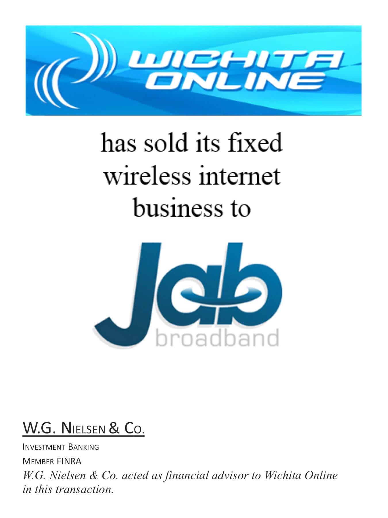 wichita online investment banking transaction