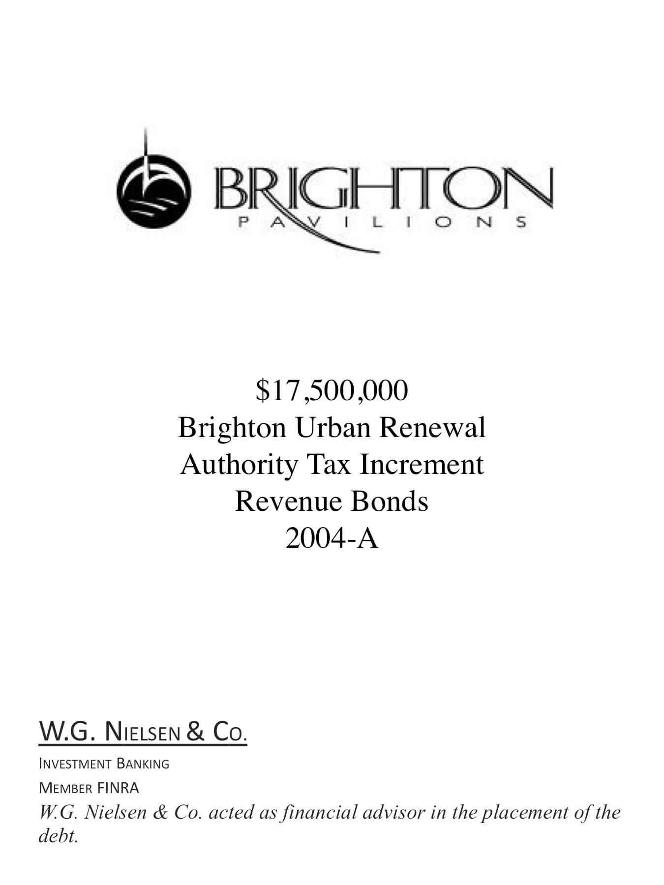 brighton pavilion investment banking transaction