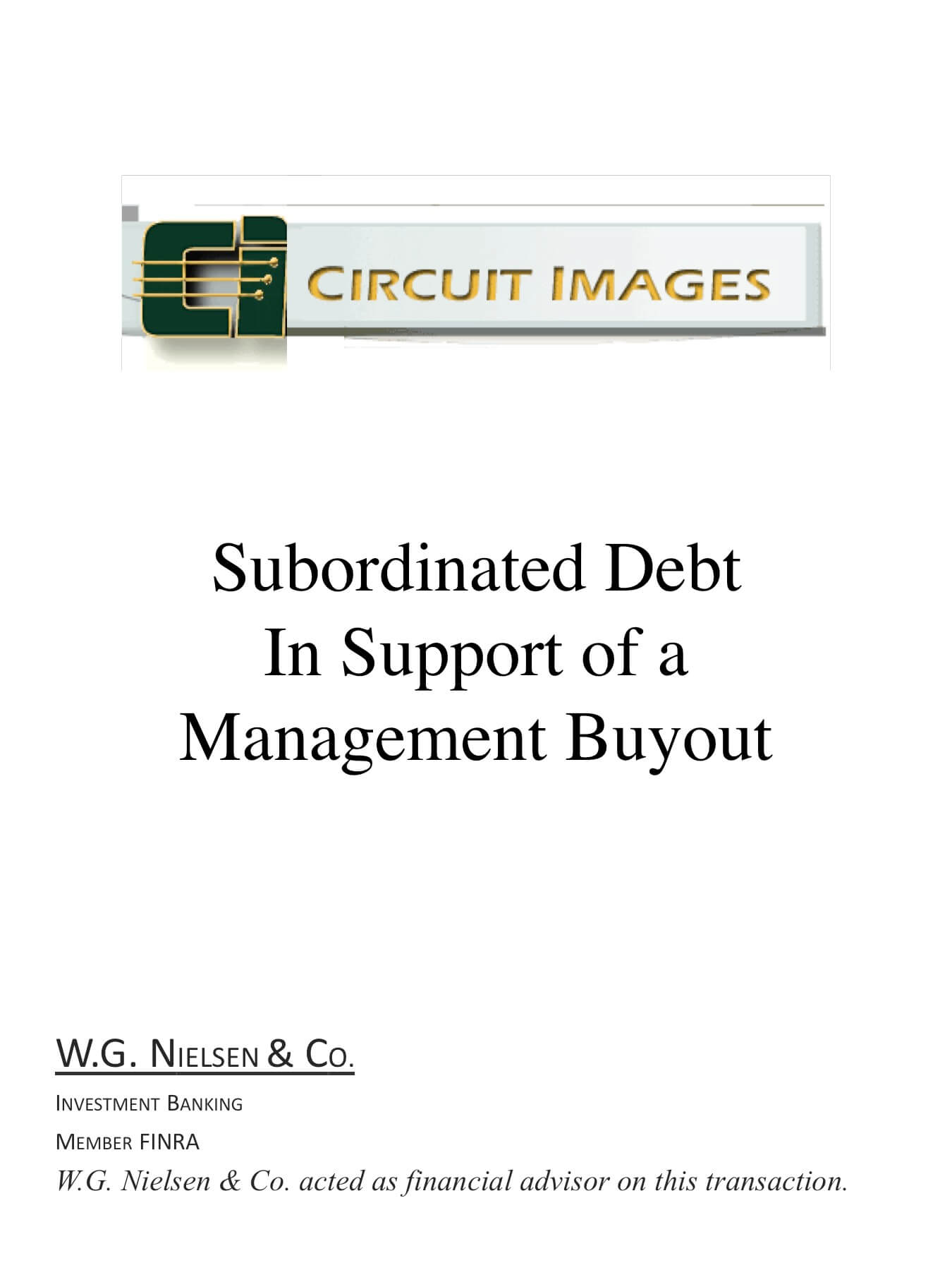 circuit images investment banking transaction