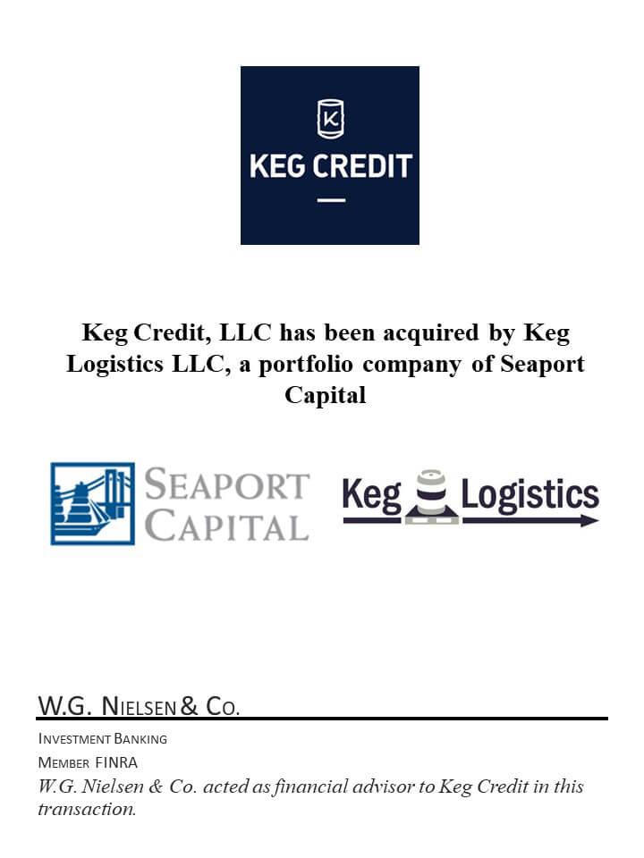 keg credit investment banking transaction