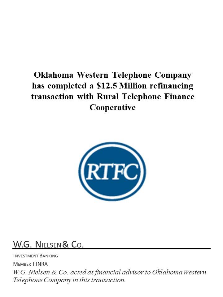 oklahoma western telephone investment banking transaction