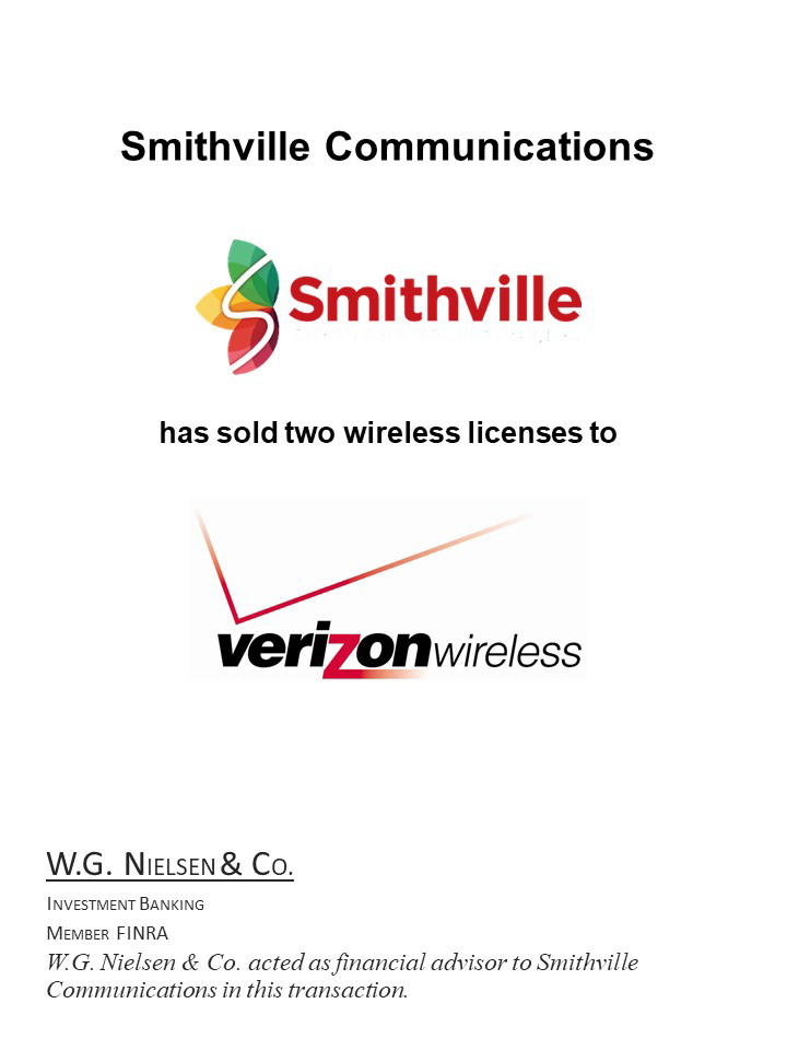 smithville communications investment banking transaction
