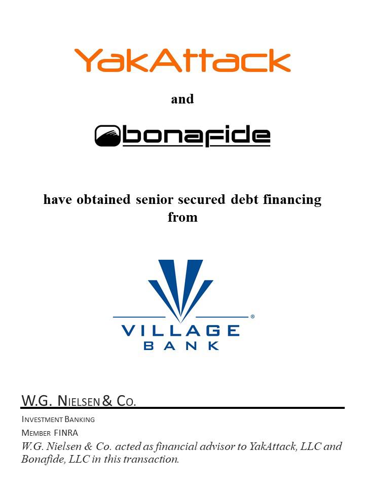 yakattack bonafide secured-debt financial services